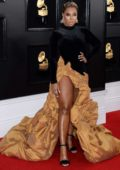 Ashanti attends the 61st Annual GRAMMY Awards (2019 GRAMMYs) at Staples Center in Los Angeles