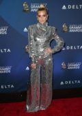 Ashlee Simpson attends the Delta Air Line Pre-Grammys 2019 party in Los Angeles