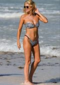 Ashley James sizzles in a bikini at the beach while holidaying in Tanzania