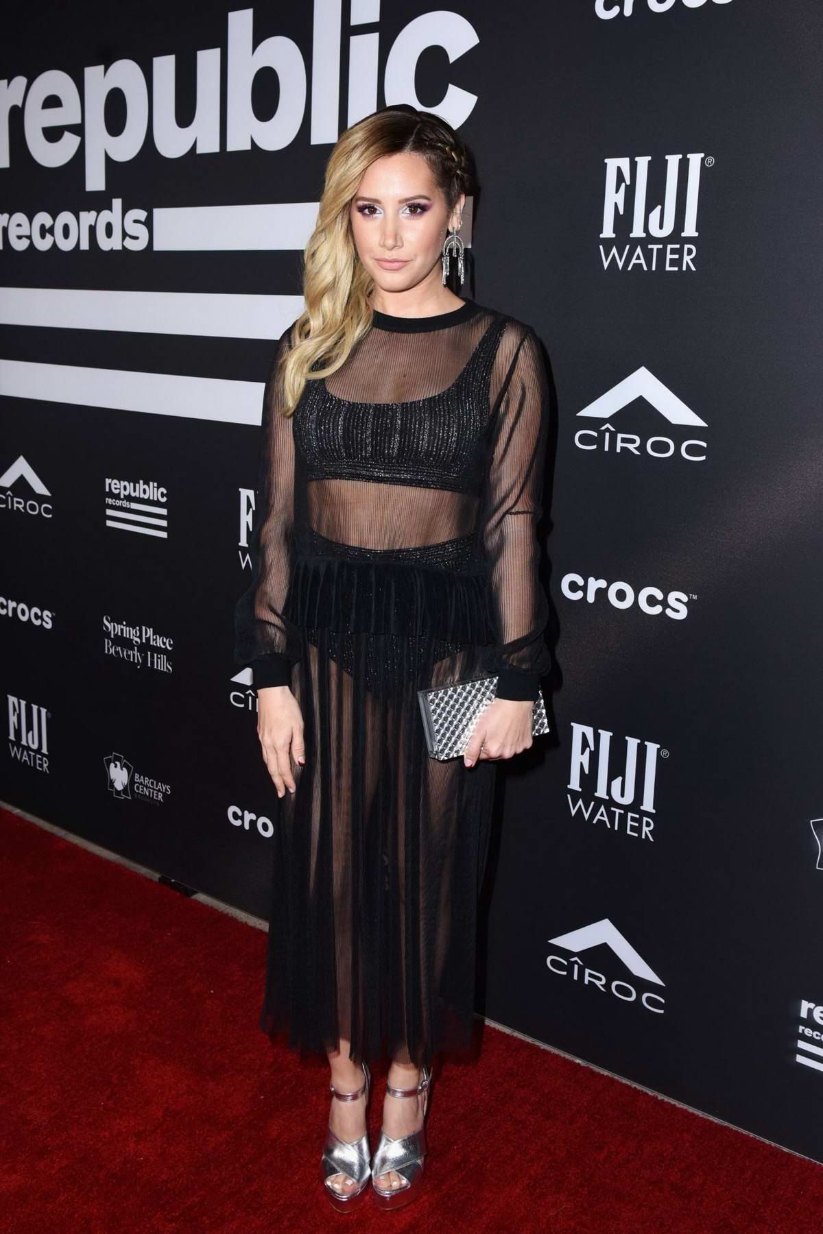 Ashley Tisdale attends Republic Records' Grammys 2019 After Party in Los Angeles