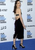 Aubrey Plaza attends the 34th Film Independent Spirit Awards in Santa Monica, California