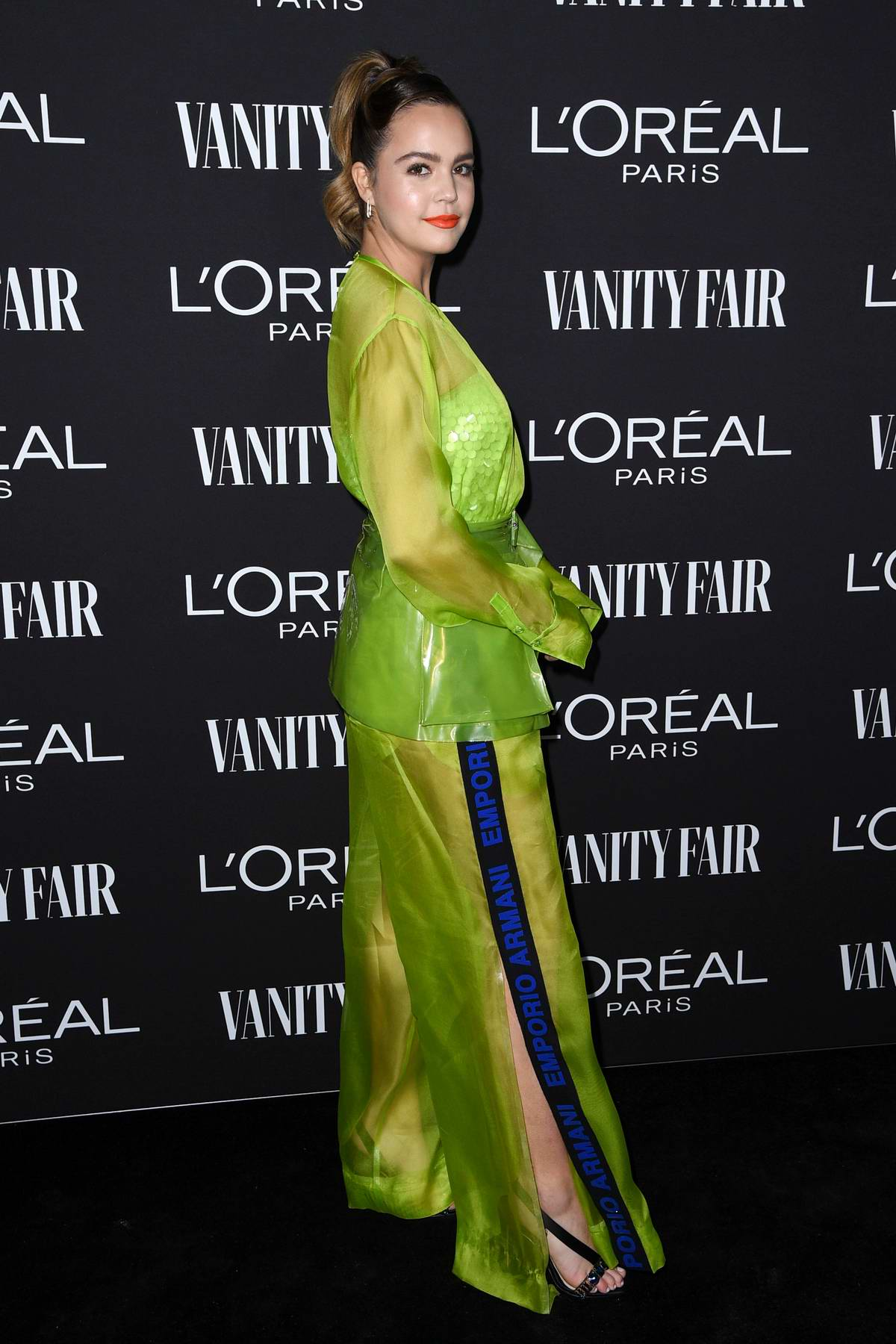Bailee Madison attends the Vanity Fair and L'Oréal Paris Celebrate New Hollywood in Los Angeles