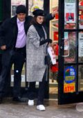 Bella Hadid spotted as she stops by a local pharmacy in New York City