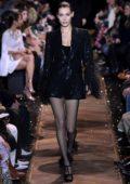 Bella Hadid walks the runway at Michael Kors fashion show Fall Winter 2019 during New York Fashion Week in New York City