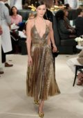Bella Hadid walks the runway at the Ralph Lauren Ready to Wear Spring 2019 Fashion Show during NYFW in New York City