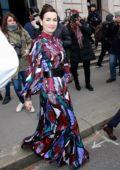 Camilla Belle attends the Carolina Herrera fashion show during New York Fashion Week in New York City
