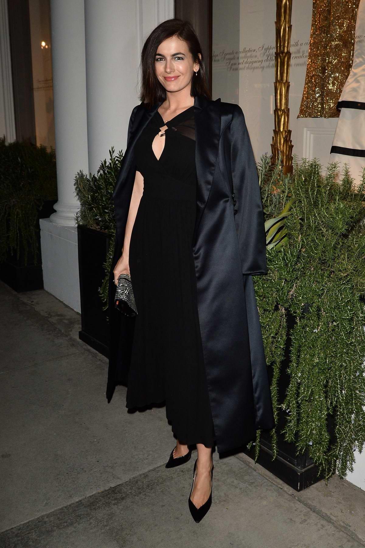 Camilla Belle attends the Giorgio Armani Pre-Oscar Party in Los Angeles