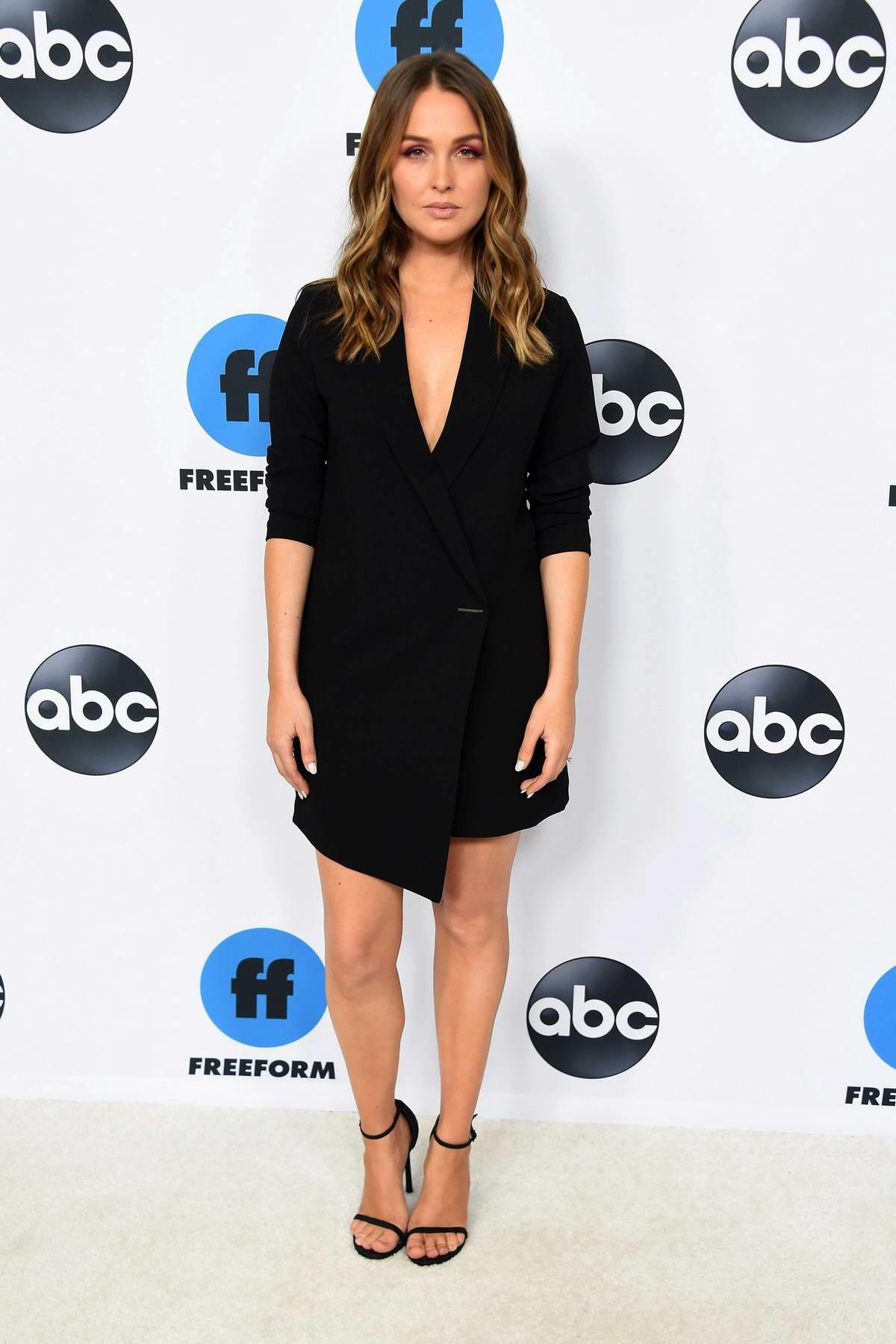 Camilla Luddington attends the Freeform's TCA Winter Press Tour in Los Angeles