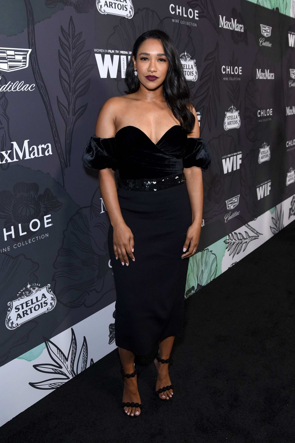 Candice Patton attends the 12th Annual Women In Film Oscar Party in Beverly Hills, Los Angeles