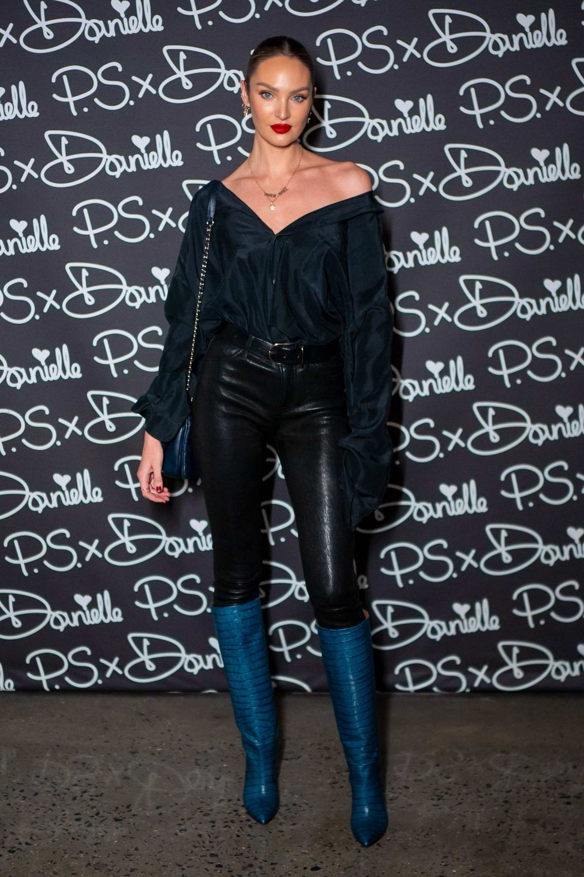 Candice Swanepoel attends PS x Danielle launch by Danielle Priano in New York City
