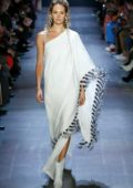 Candice Swanepoel walks the runway at Prabal Gurung Show during New York Fashion Week in New York City