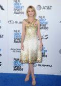 Carey Mulligan attends the 34th Film Independent Spirit Awards in Santa Monica, California