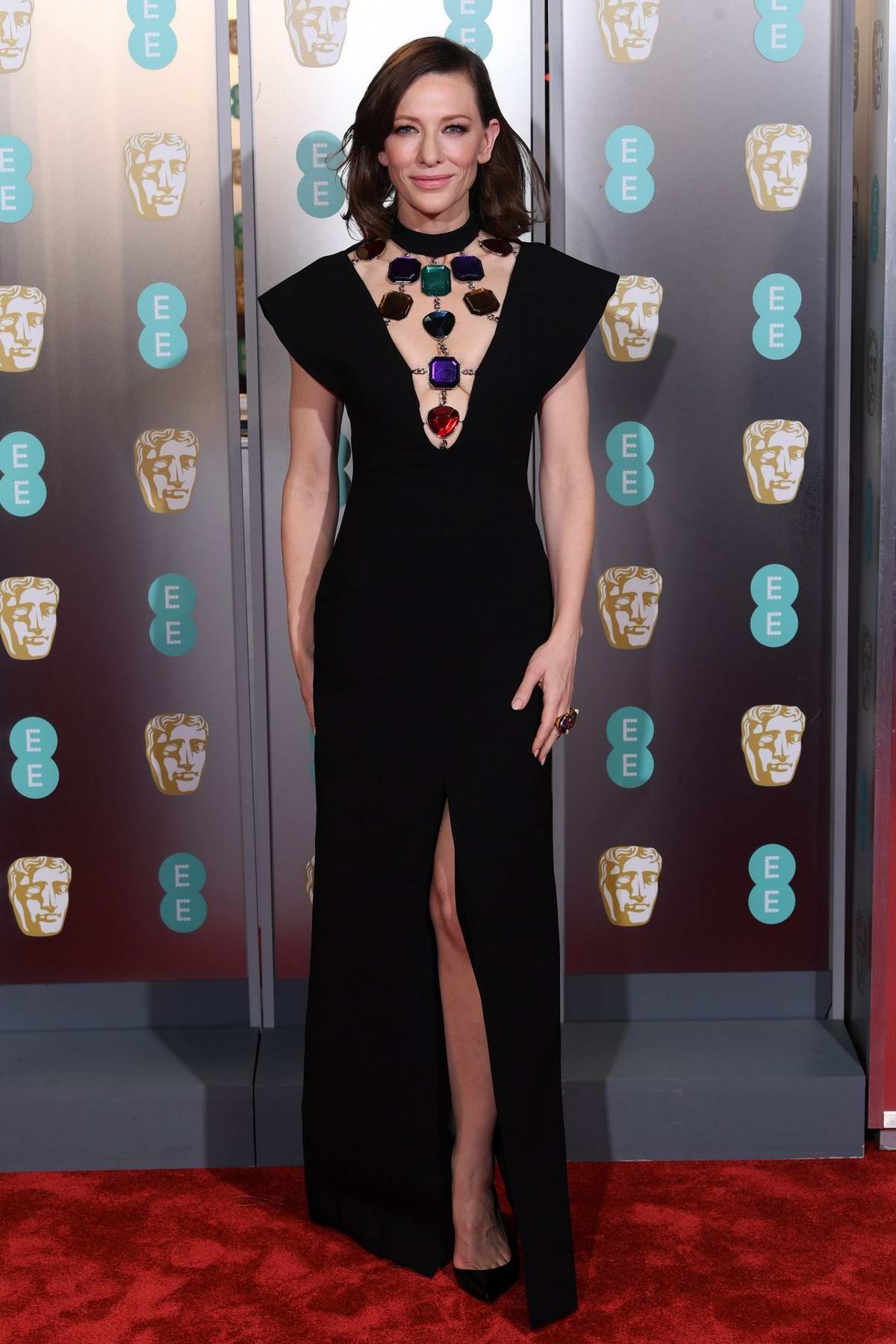 Cate Blanchett attends the 72nd EE British Academy Film Awards (BAFTA 2019) at Royal Albert Hall in London, UK