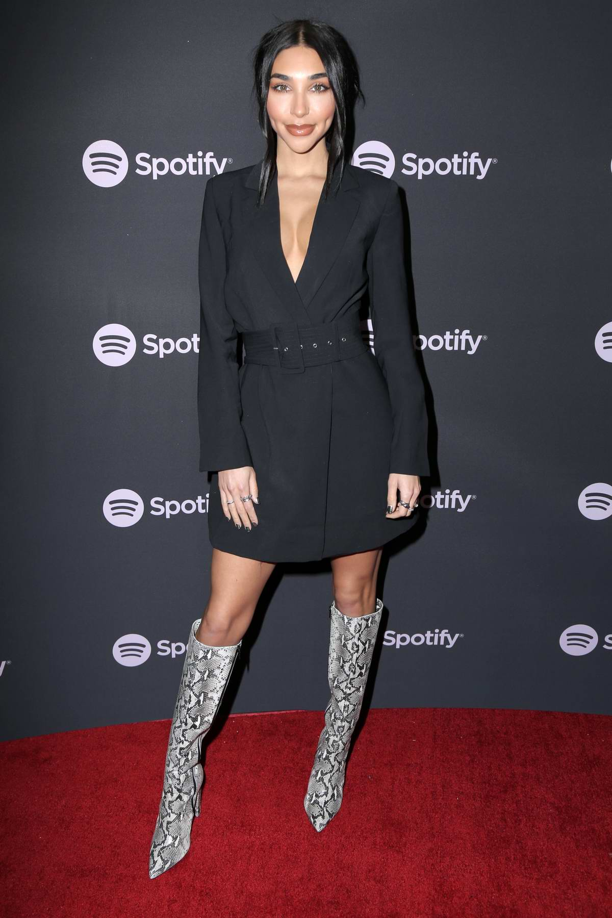 Chantel Jeffries attends the Spotify 'Best New Artist 2019' event at Hammer Museum in Los Angeles