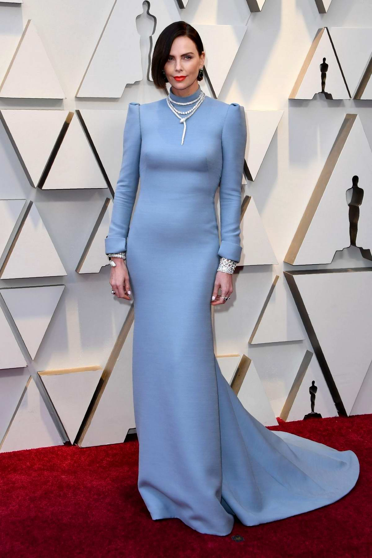 Charlize Theron attends the 91st Annual Academy Awards (Oscars 2019) held at the Dolby Theatre in Hollywood, California