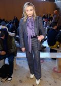 Chloe Grace Moretz attends the Coach fashion show during New York Fashion Week in New York City