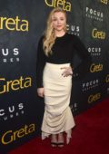 Chloe Grace Moretz attends the premiere of 'Greta' at ArcLight Theatre in Hollywood, California