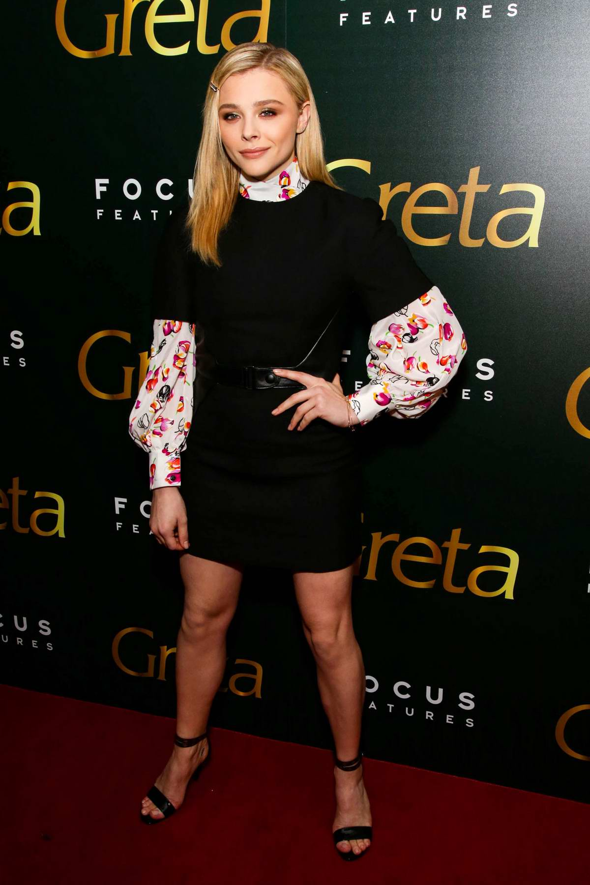 Chloe Grace Moretz attends the screening of her movie ...