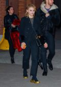 Chloe Grace Moretz looks cute as she leaves Highline Stages after doing a photoshoot for Louis Vuitton in New York City