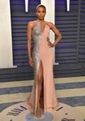 Ciara attends the Vanity Fair Oscar Party at Wallis Annenberg Center for the Performing Arts in Beverly Hills, California