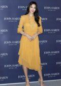 Claudia Kim attends the John Hardy fashion photocall in Seoul, South Korea