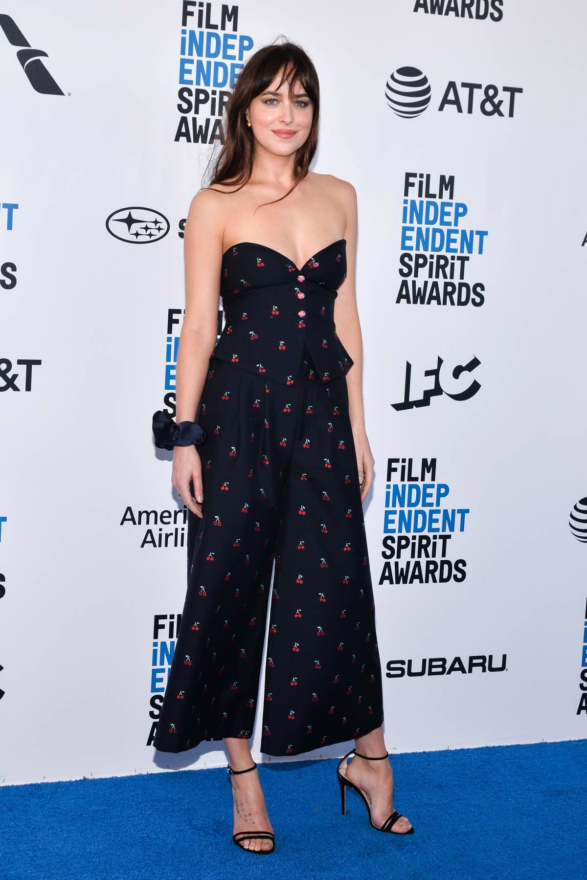 Dakota Johnson attends the 34th Film Independent Spirit Awards in Santa Monica, California