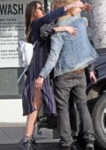 Dakota Johnson spotted with her brother Jesse and sister Grace before going shopping in Hollywood, California