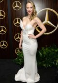 Danielle Savre attends the Mercedes-Benz USA Academy Awards Viewing Party At Four Seasons in Los Angeles