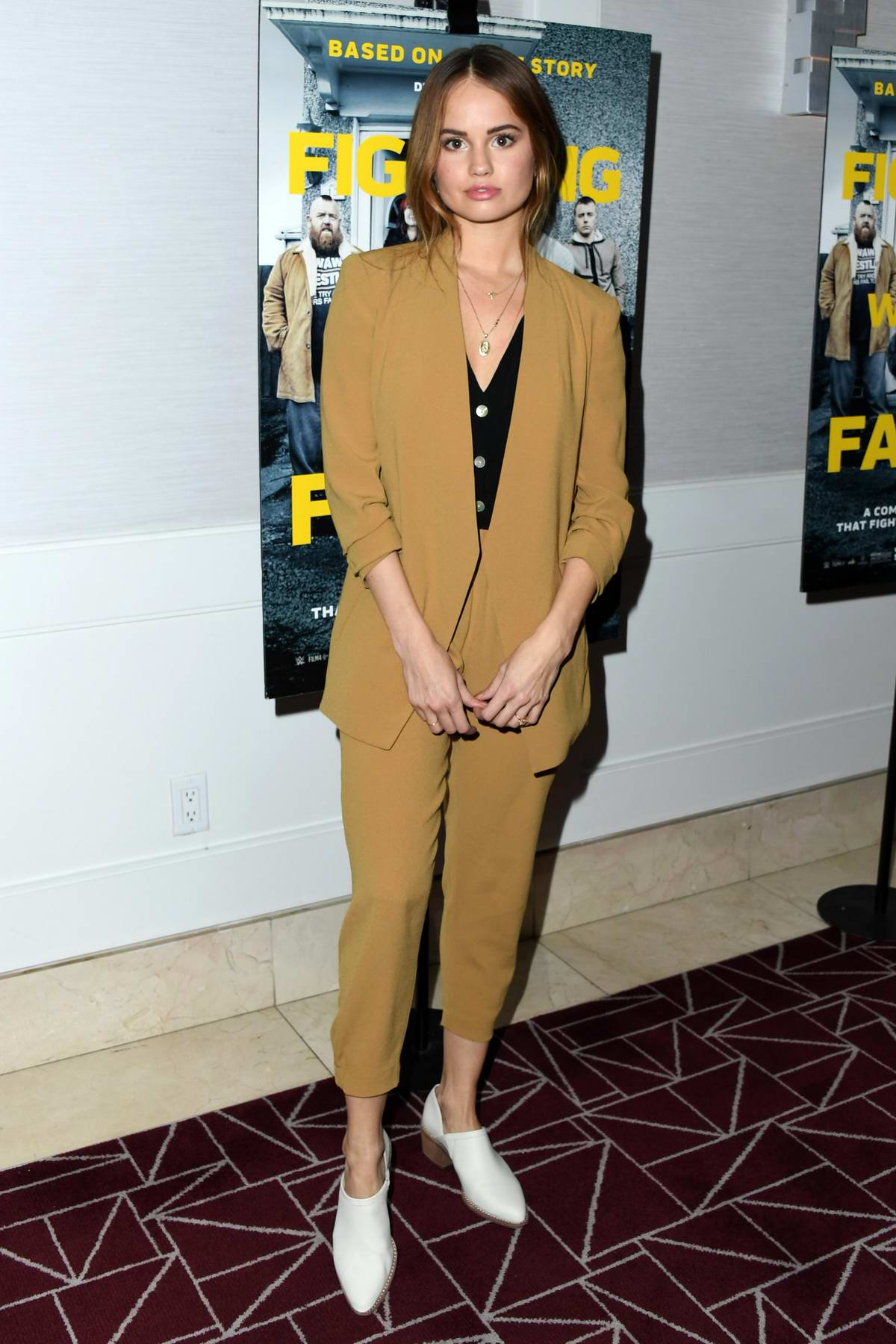 Debby Ryan attends 'Fighting With My Family' Los Angeles Tastemaker Screening at The London West Hollywood Hotel in Los Angeles