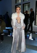 Delilah Belle Hamlin attends Phillip Lim fashion show during New York Fashion Week in New York City