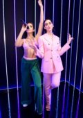 Dua Lipa attends her waxwork unveiling at the Madame Tussauds in London, UK