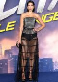 Dua Lipa attends the Alita: Battle Angel premiere at Odeon Leicester Square in London, UK