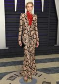 Elizabeth Debicki attends the Vanity Fair Oscar Party at Wallis Annenberg Center for the Performing Arts in Beverly Hills, California