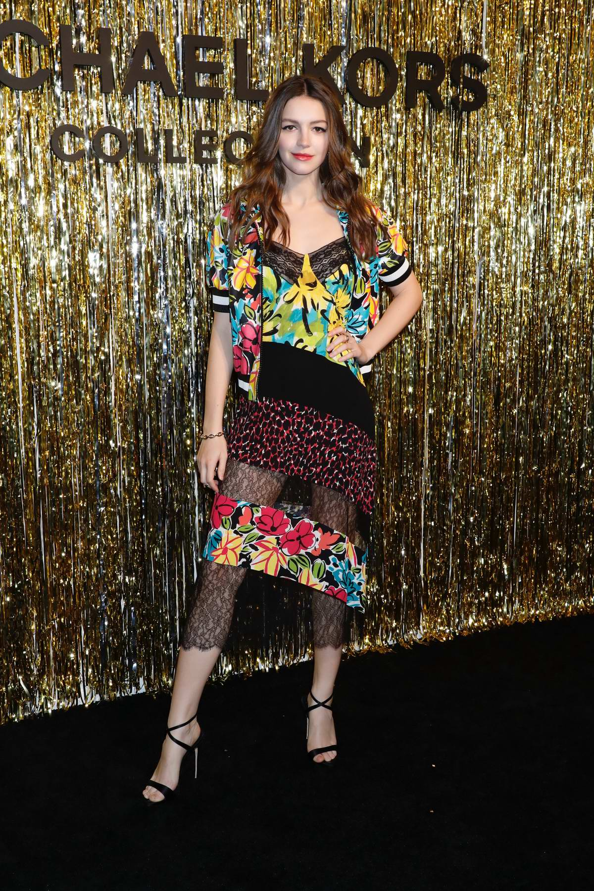 Ella Hunt attends Michael Kors fashion show during New York Fashion Week in New York City