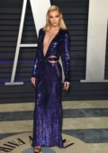Elsa Hosk attends the Vanity Fair Oscar Party at Wallis Annenberg Center for the Performing Arts in Beverly Hills, California