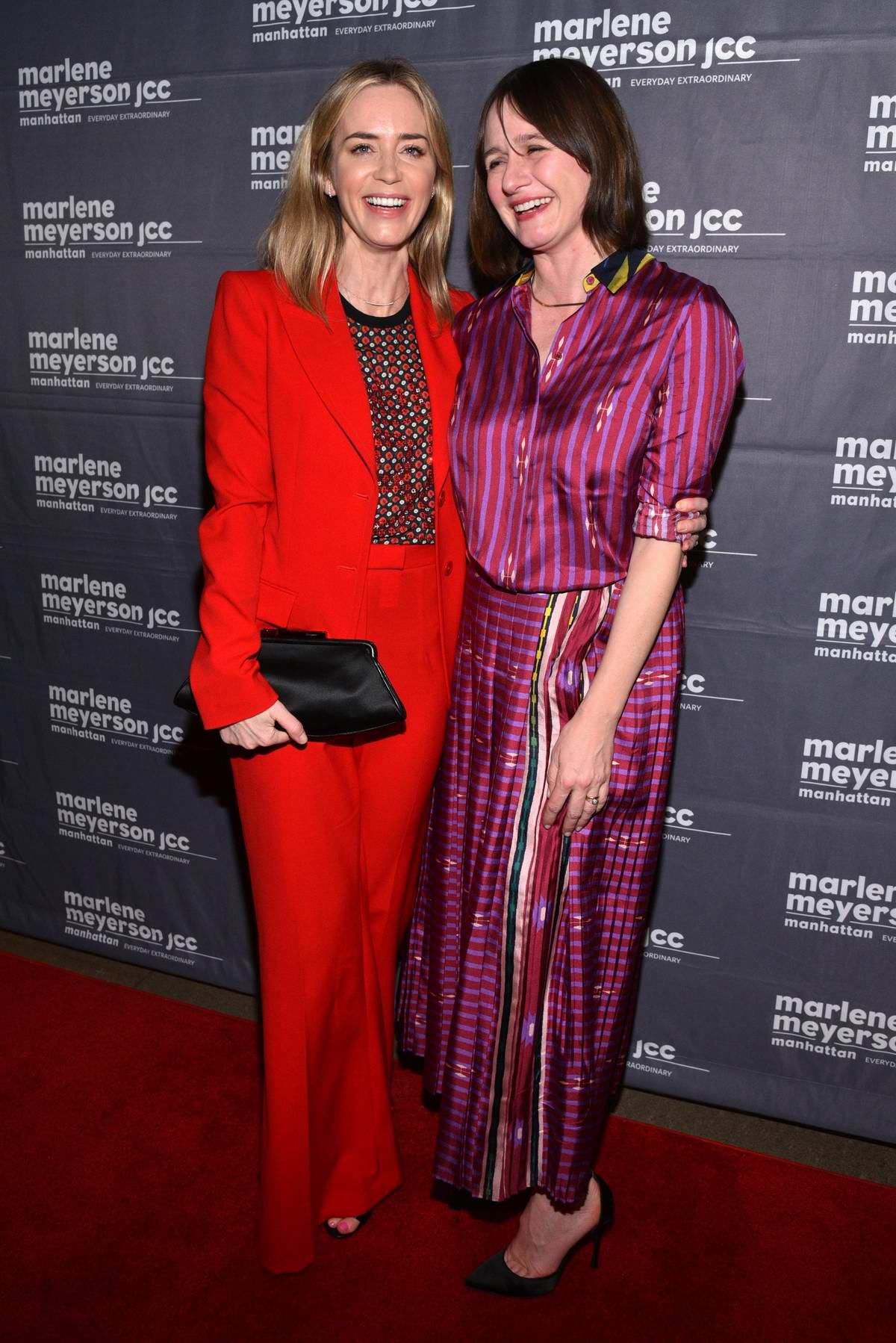 Emily Blunt and Emily Mortimer attends the Special Screening of 'To Dust' in New York City