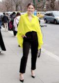 Emily DiDonato attends the Carolina Herrera fashion show during New York Fashion Week in New York City