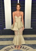 Emily Ratajkowski attends the Vanity Fair Oscar Party at Wallis Annenberg Center for the Performing Arts in Beverly Hills, California