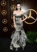 Emma Dumont attends the Mercedes-Benz USA Awards Viewing Party at Four Seasons in Los Angeles