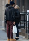 Emma Roberts shares a kiss with Evan Peters on Valentine's Day In New York City