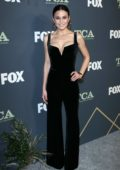 Emmanuelle Chriqui attends the Fox Winter TCA 2019 at The Fig House in Los Angeles