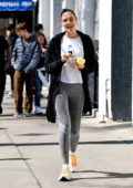 Gal Gadot enjoys a day with her kids at the farmer's market in Los Angeles