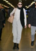 gigi hadid spotted in grey sweats as she arrives at the airport in milan, italy-230219_9