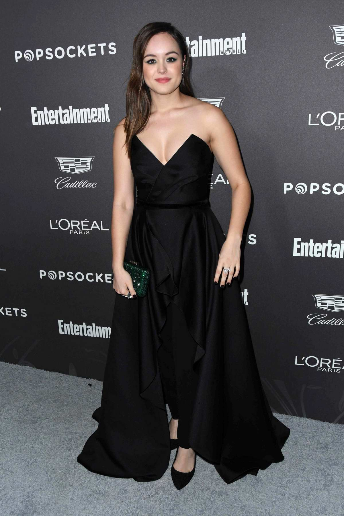 Hayley Orrantia attends Entertainment Weekly Pre-SAG 2019 Party in Los Angeles