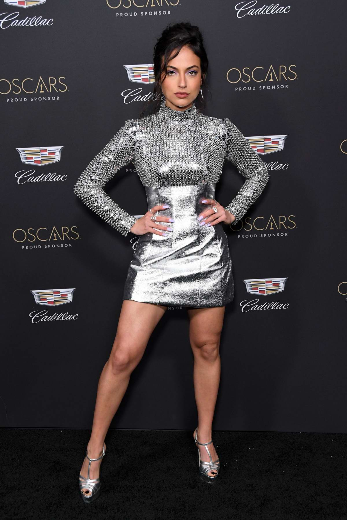 Inanna Sarkis attends Cadillac Celebrates The 91st Annual Academy Awards held at the Chateau Marmont in West Hollywood, Los Angeles