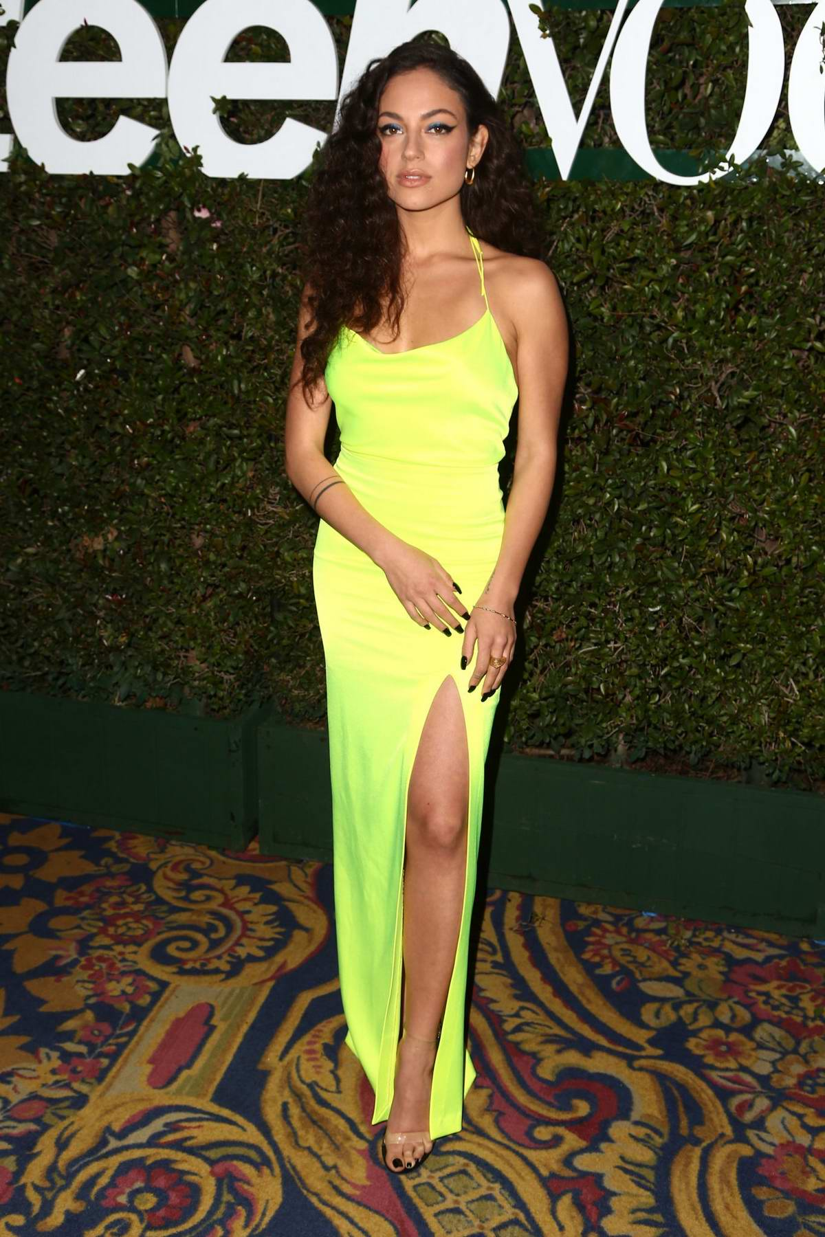 Inanna Sarkis attends the Teen Vogue's 2019 Young Hollywood Party held at the LA Theatre in Los Angeles