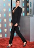 Irina Shayk attends the 72nd EE British Academy Film Awards (BAFTA 2019) at Royal Albert Hall in London, UK