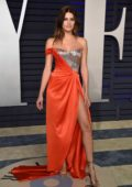 Isabeli Fontana attends the Vanity Fair Oscar Party at Wallis Annenberg Center for the Performing Arts in Beverly Hills, California