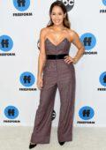 Jaina Lee Ortiz attends the Freeform's TCA Winter Press Tour in Los Angeles