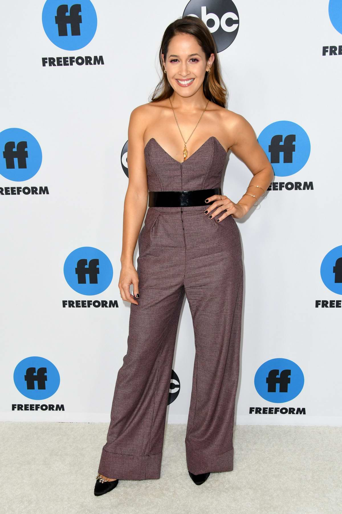 Jaina Lee Ortiz attends the Freeform's TCA Winter Press Tour in Los Angeles